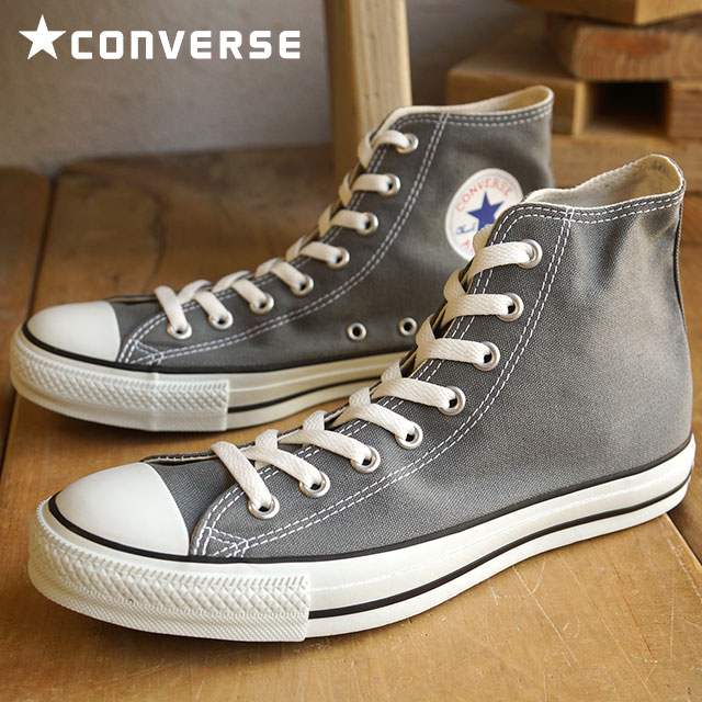 All Star Hi Gray Converse Canvas b7fyYv6g