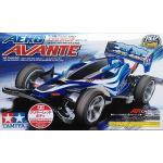 95038 1/32 aero avante (AR chassis) (clear red body)