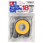 87032 Masking tape 18 mm. (มีที่ตัด)