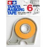 87030 Masking tape 6 mm. (มีที่ตัด)