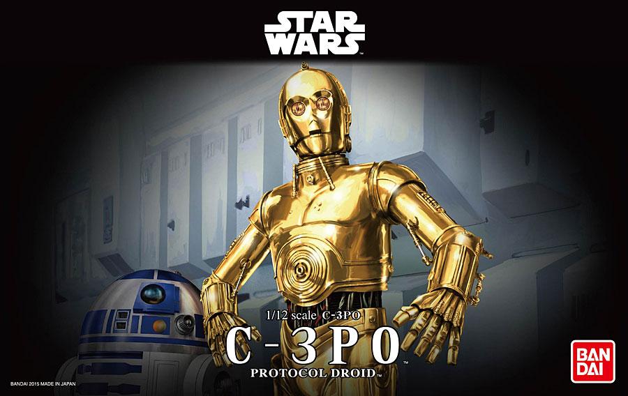 1/12 C-3PO (Plastic model)