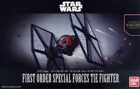 1/72 First order special forces tie fighter 2400yen (โมประกอบ)