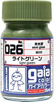 gaia 026 Light Green (semi gloss) 15ml.