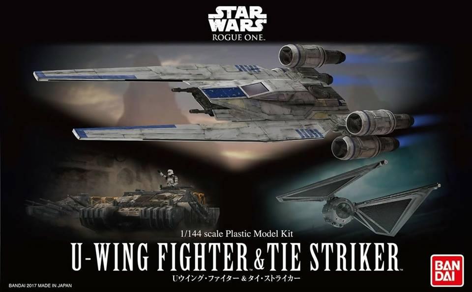 12184 1/144 U-WING FIGHTER & TIE STRIKER 2200 yen