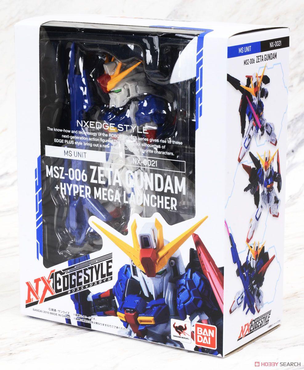 09416 Nxedge Style [MS UNIT] Z Gundam + Hyper Mega Launcher (Completed)