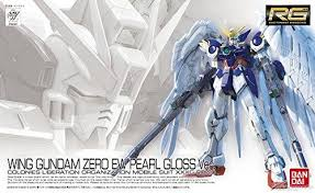 (limited EXPO) RG 1/144 wing zero ew pearl gloss ver