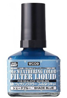 weathering color filter liquid wc-09 shade blue 40ml.