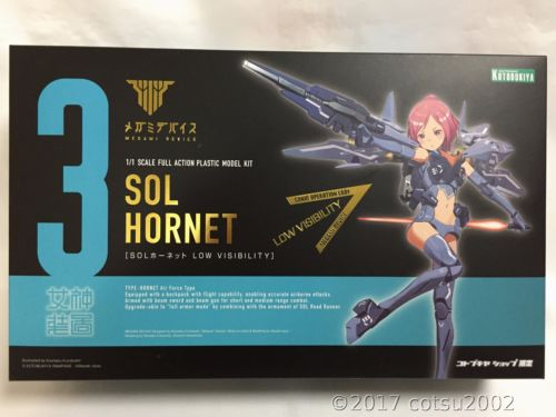 Limited SOL Hornet LOW VISIBILITY (Plastic model)