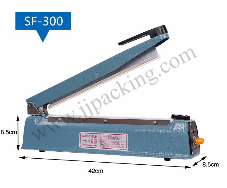 เครื่องซีลมือกด บอดี้เหล็ก Sealing Machine PFS-300 (30 cm.)