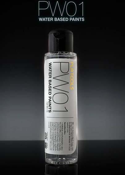 PW01 water based paint 90ml. (ตัวทำละลาย vallejo/ citadel/ mr.Acrylic)