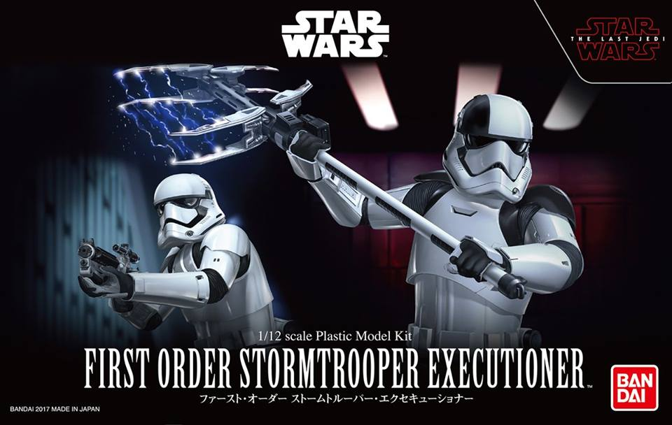 1/12 FIRST ORDER STORMTROOPER EXECUTIONER 2700yen โมประกอบ