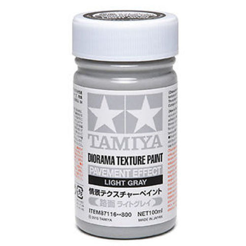 87116 Texture Paint-Pavement, L Gray 100ml. (เทาอ่อน)