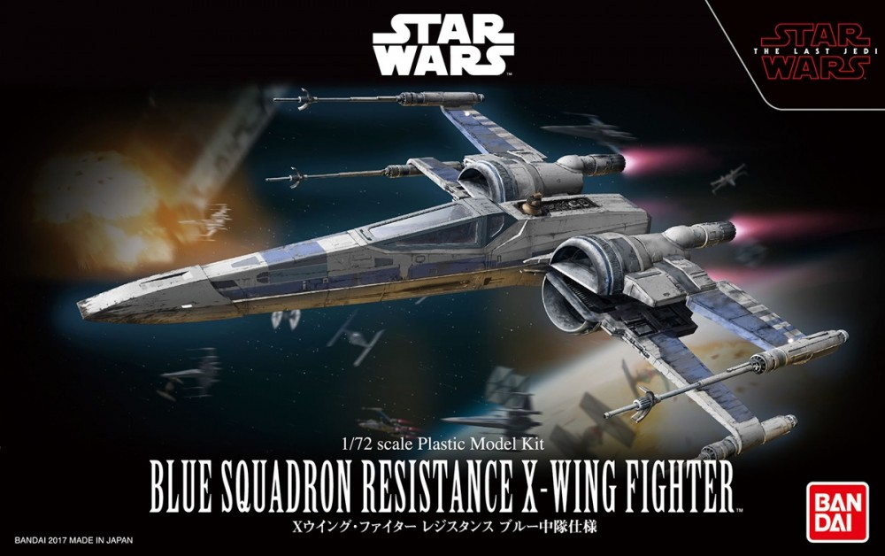 1/72 BLUE SQUADRON RESISTANCE X-WING FIGHTER 2600yen โมประกอบ*