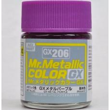 GX-206 Mr.metalic GX metal purple 18ml.