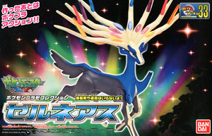 no 33 Pokemon Plastic Model Collection Select Series Xerneas (Plastic model)