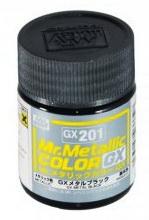 GX-201 Mr.metalic GX metal black 18ml.