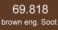 mecha vallejo 69. 818 brown eng. Soot (matt) 17 ml.