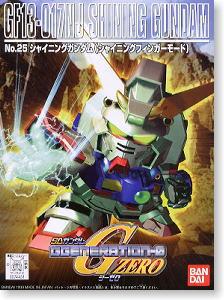 74431 GG 25. GF13-017NJ Shining Gundam (SD) 500yen