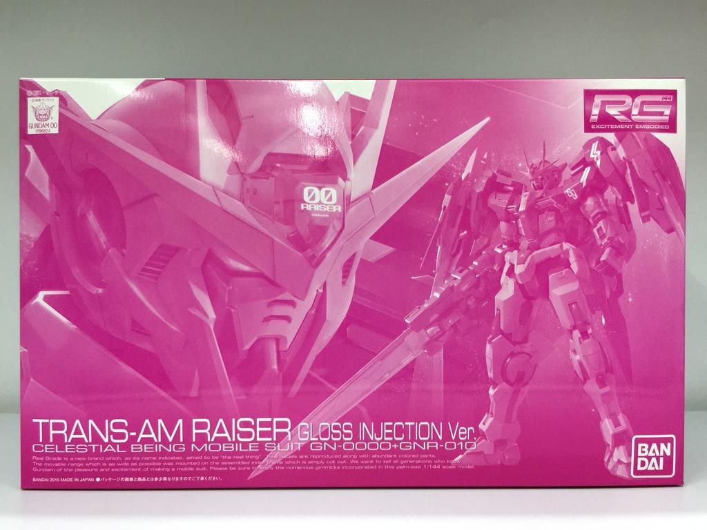 (P-bandai) RG 1/144 oo trans-am raiser