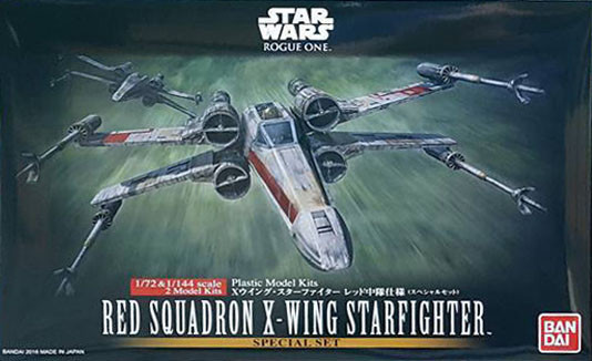 10522 1/72 RED SQUADRON X-WING STARFIGHTER SPECIAL SET 3000yen