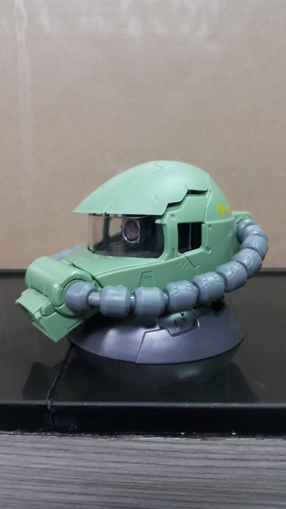 GD EXCEED MODEL ZAKU HEAD 3 สีเขียว