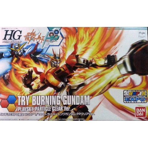 hgbf 1/144 limited try burning plavsky particle clear ver. Expo