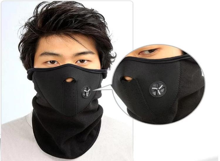 หน้ากากป้องกันฝุ่น-แดด UV จักรยาน