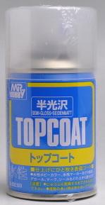 b-502 Topcoat semi-gloss 88ml.