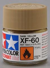 81760 acrylic mini (flat) xf-60 dark yellow