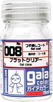 (เหลือ 1 ชิ้น รอเมล์ฉบับที่2 ยืนยัน ก่อนโอน) gaia 008 Clear Flat 15ml.