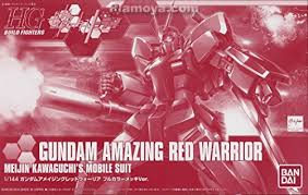 hgbf 1/144 limited amazing red warrior meijin kawaguchi's mobile suit