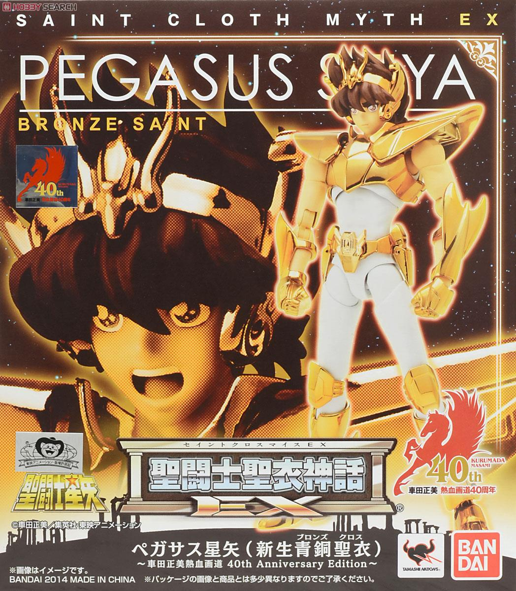 (เหลือ 1 ชิ้น รอเมล์ฉบับที่2 ยืนยัน ก่อนโอน) Saint Cloth Myth EX Pegasus Seiya (New Bronze Cloth) -Masami Kurumada Nekketsugado 40th Anniversary Edition-(PVC Figure)
