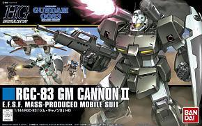 (เหลือ 1 ชิ้น รอเมล์ฉบับที่2 ยืนยัน ก่อนโอน) hg1/144 125 gm cannonII rgc-83