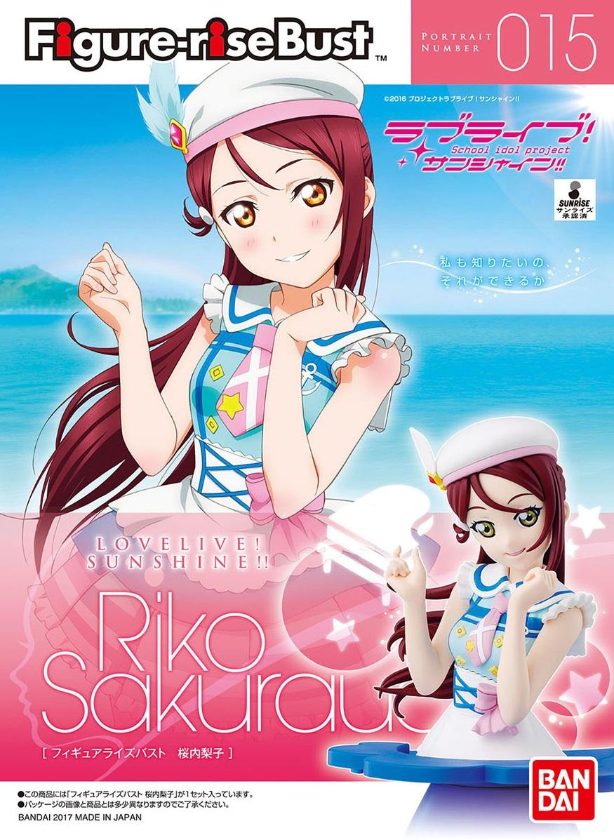 14488 Figure-rise Bust Love Live! Sunshine!! Riko Sakurauchi (Plastic model)1800yen