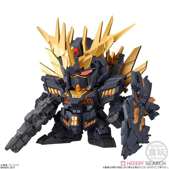 เหลือตัวโชว์ FW SD Gundam Neo 03 no14Unicorn Gundam Unit 2 Banshi Norn (Destroy Mode)
