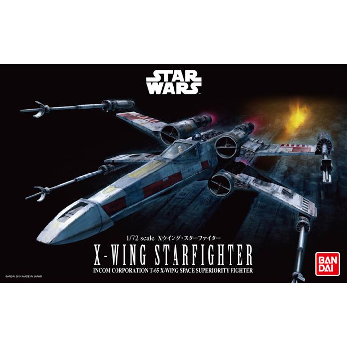 1/72 x-wing starfighter 2400yen (โมประกอบ)