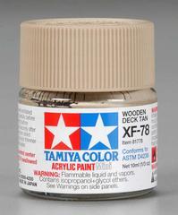 81778 acrylic mini (flat) xf-78 wooden deck tan