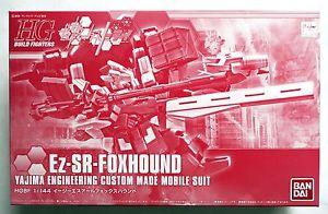 hgbf 1/144 p-bandai hgbf Ez-SR foxhound
