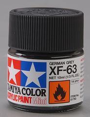 81763 acrylic mini (flat) xf-63 german grey