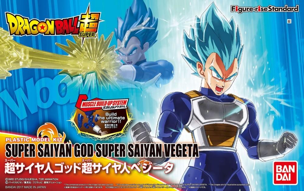 Figure-rise Standard Super Saiyan God Super Saiyan Vegeta (Plastic model) 2500yen