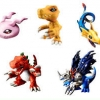 DIGIMON CAPSULE MASCOT COLLECTION VER.2,0 แบบเซ็ต ( 1เซ็ตจะมี5 แบบ)