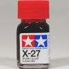 80027 Enamel X27 clear red