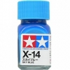 80014 Enamel X14 sky blue