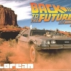 Back to the Future De Lorean Part III & Railroad (Model Car)