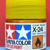 81524 acrylic mini x-24 clear yellow
