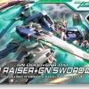 (มี1 รอเมลฉบับที่2 ยืนยันก่อนโอนเงิน ) hg 1/144 54 GN-0000+GNR-010 00 Raiser + GN Sword III 2000yen