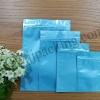 ซองฟอยล์ซิปล็อค สีฟ้าเงา (Glossy Foil Flat Pouch with Zipper - Tiffany Blue)