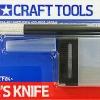 74040 Modeler's Knife มีดตัดจับแบบปากกา สีดำ+ใบมีดอะไหล่ 25 ชิ้น