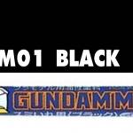 gm01 gundam marker black ( หัวเข็ม สีดำ )