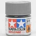 (เหลือ 1 ชิ้น รอเมล์ฉบับที่2 ยืนยัน ก่อนโอน) 81511 acrylic mini x-11 chrome silver